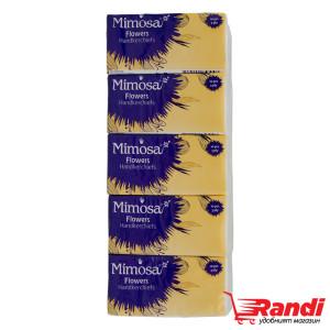 Носни кърпи Mimosa цветя 10бр.