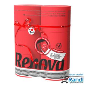 Тоалетна хартия Renova червена 6бр.