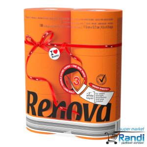 Тоалетна хартия Renova оранжева 6бр.