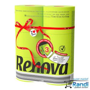 Тоалетна хартия Renova зелена 6бр.