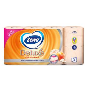 Тоалетна хартия Zewa Cashmere Peach 8бр.