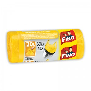 Чували за смет жълти Fino 20л. 30бр.