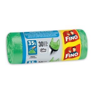Чували за смет зелени Fino 35л. 30бр.