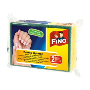 Гъба за съдове с канал Fino 2бр.