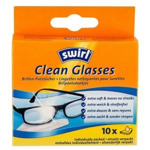 Кърпички за очила Swirl 10бр.