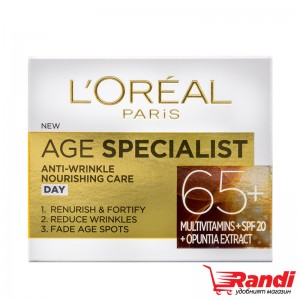 Крем за лице L`Oreal Age Specialist 65+ дневен 50мл.