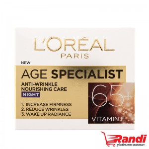Крем за лице L`Oreal Age Specialist 65+ нощен 50мл.