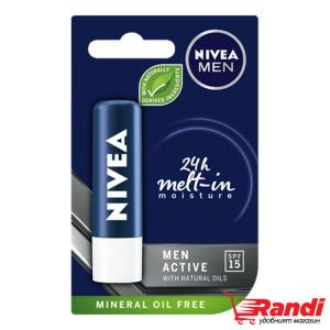 Балсам за устни Men Active Nivea 4,8гр.