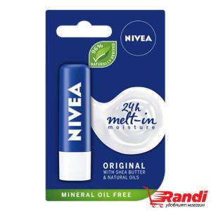 Балсам за устни Original Care Nivea 4.8гр.