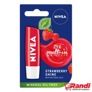 Балсам за устни ягода Nivea 4.8гр.