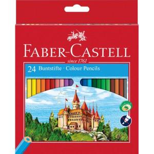 Моливи цветни Faber Castell 24 цвята