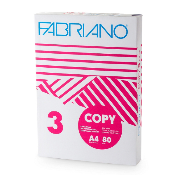 Копирна хартия Fabriano формат А4 - 500л.