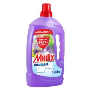 Универсален препарат за под антибактериален Violet Freesia Medix 1,5л.