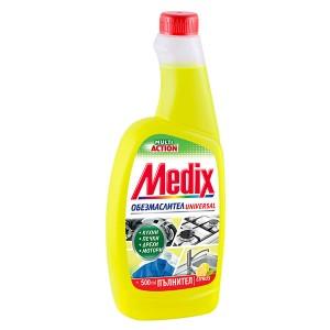 Medix обезмаслител лимон 500мл. пълнител