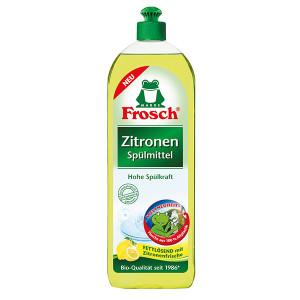 Препарат за съдове Zitronen жълт лимон Frosch 750мл.