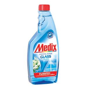 Препарат за прозорци резерва Medix Момина сълза 500мл.