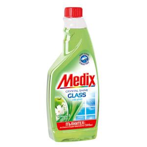 Препарат за прозорци резерва Medix Фрезия и ябълка 500мл.