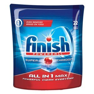 Таблетки за съдомиална Finish Powerball All in 1Max 22бр.