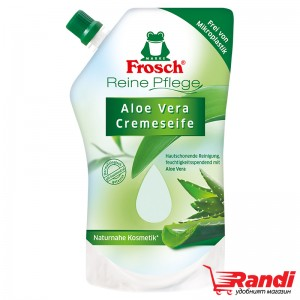 Течен сапун за ръце Frosch алое вера пълнител 500мл.