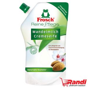 Течен сапун за ръце Frosch бадем пълнител 500мл.