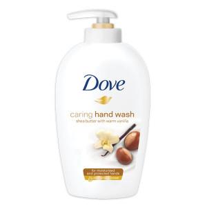 Течен сапун Dove shea butter whith vanilla 250мл.