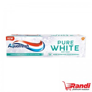 Паста за зъби Aquafresh Pure White soft mint 75мл.