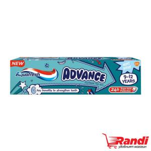 Паста за зъби Aquafresh Advance 9-12год. 75мл.
