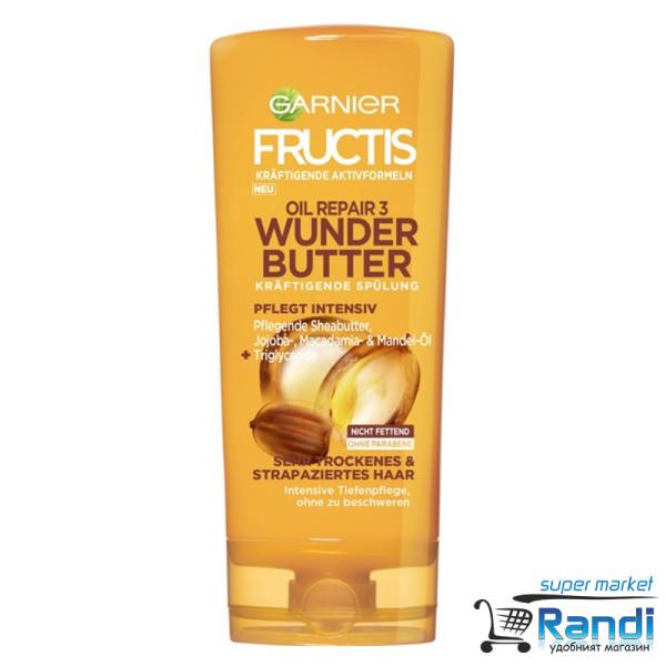 Балсам Garnier Fructis Oil Repair3 Wonder Butter 200мл.