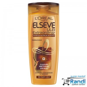 Шампоан Elseve Extraordinary INTENSE Nut Oil 250мл.