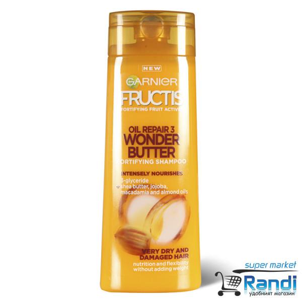 Шампоан Garnier Fructis Oil Repair3 Wonder Butter 250мл.