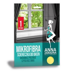 Микрофибърна кърпа за стъкло  Anna Zaradna 1 бр.
