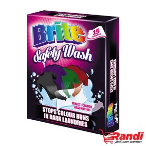 Цветоулавящи кърпички черно пране  Brite 20бр.