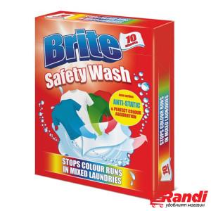 Цветоулавящи кърпички цветно пране  Brite 10бр.