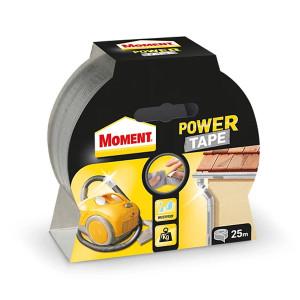 Трислойна лепяща лента сребърна Moment Power Tape 10м.