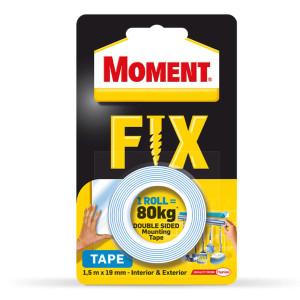 Двойно лепяща лента Moment Fix 1.5m 19mm