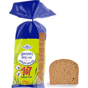 Пълнозърнест ръжен хляб 107 Елиаз 400гр.