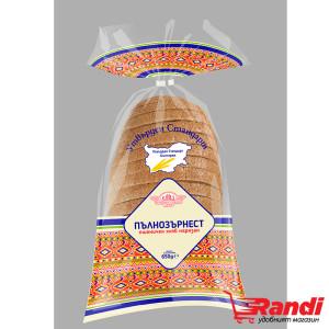 Пълнозърнест пшеничен хляб УС Елиаз 650гр.