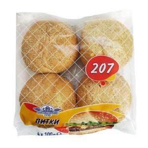 Питки със сусам за сандвичи Елиаз 4*100гр.
