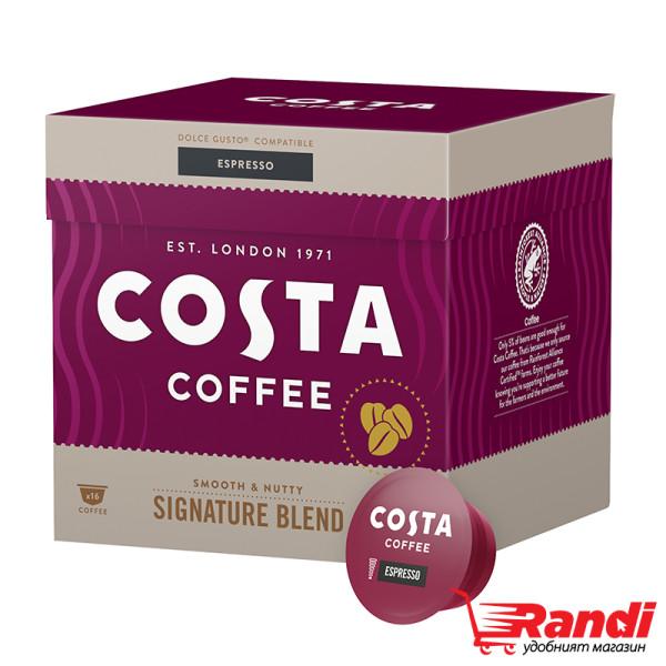 Кафе капсули Costa Espresso 112гр.