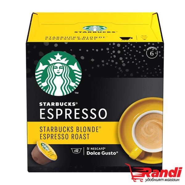 Starbucks Espresso Blonde Dolce Gusto 12бр.