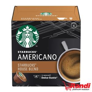 Starbucks Americano House Blend Dolce Gusto 12бр.