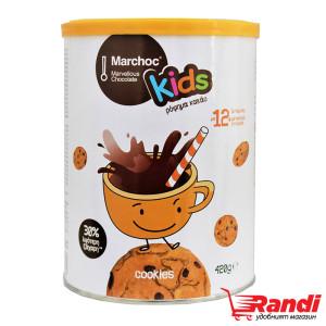 Какао Marchoc Kids cookies 420гр.