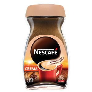 Разтворимо кафе Nescafe crema 100гр.