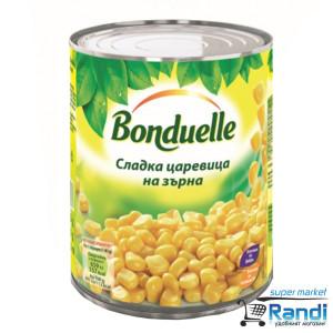 Сладка царевица на зърна Bonduelle 850мл.
