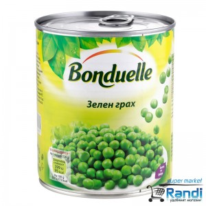 Зелен грах Bonduelle 850мл.