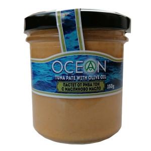 Пастет от риба тон с маслиново масло Ocean 150гр.