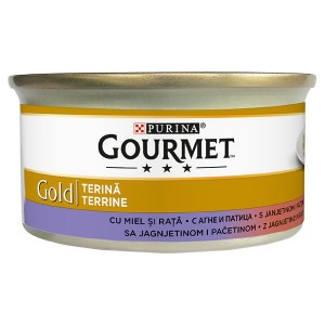 Gourmet Gold агне и патица 85гр.