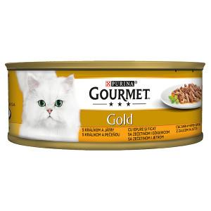 Gourmet Gold заек и черен дроб 85гр.
