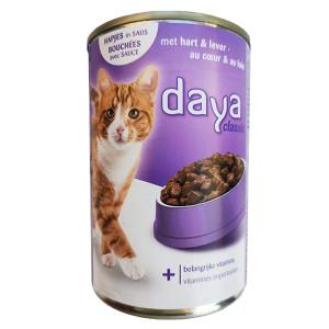 Котешка консерва Daya сърца 400гр.