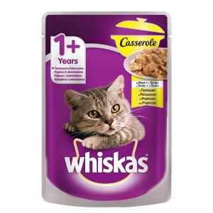 Храна за котки с пиле Casserole Whiskas 85гр.